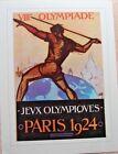 Olympics Paris 1924 Poster 12x16 Brand New