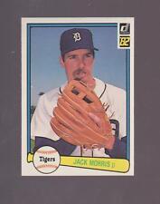 1982 Donruss # 107 Jack Morris Hall of Fame!!! MINT!!!!