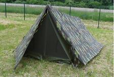 Belgisches Fallschirmjäger Commando Zelt tarn gebraucht Campingzelt Outdoorzelt