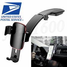 Black Car Cradle Holder For iPhone Samsung Phone GPS Dash Mounting Bracket USA