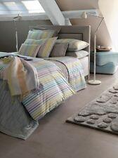 "NWT NEW Yves Delorme Cote Cote Multi stripe UK Standard Sham Pillow Case 20x30"""