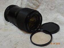Vivitar Japan 35-70mm 3.5 MC Zoom lens for Canon FD fit with filter.