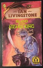 Island of the Lizard King Fighting Fantasy #7 1987 1st/13th Bronze Dragon VG
