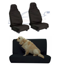 Peugeot 407 SW Front & Rear Waterproof Seat Covers Protectors