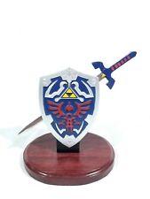 Zelda Hylian Letter Opener Shield & Sword Table Top Set Collectible