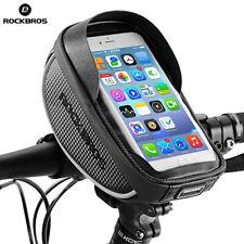 "RockBros Bike Phone Bag Waterproof Phone Case Compatible With iPhone Below 6.0"""