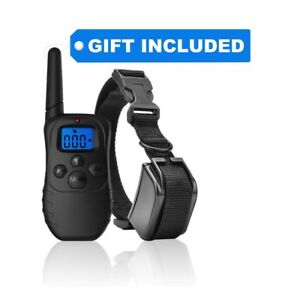 Dog Shock Collar with Remote + Dual Charger – 3 Mode (sound, vibration & shock)
