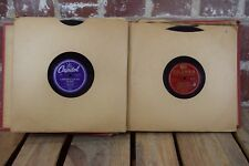 Record Book with 10 Vinyls: Raymond Scott Quintet, Peggy Lee, Bob Wills & More