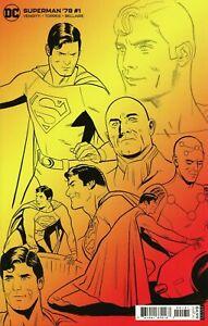 SUPERMAN '78 #1 1:25 WIFREDO VARIANT DC COMICS 2021 EB177