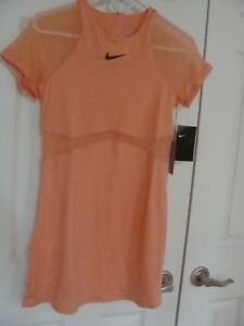 Women's Nike Court Maria Sharapova Tennis Dress Orange 887467 695 Size S~XL