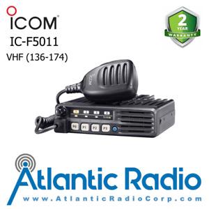 Icom IC-F5011 VHF (136-174) 50W Analog Mobile Transceiver 8 Channels F5011 51