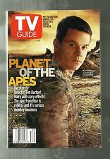 TV GUIDE-7/2001-MARK WAHLBERG-PLANET OF THE APES-JACK LEMMON-CHRISTOPHER MELONI