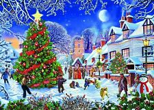 Gibsons The Village Christmas Tree Jigsaw Puzzle (1000 Pieces)