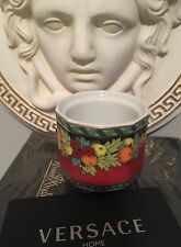 VERSACE SUN KING LE ROI CANDLE HOLDER EGG DISH NEW RETIRED SALE