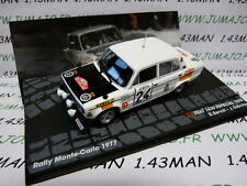 voiture 1/43 IXO Altaya Rallye seat 1430 especial 1800 Monte Carlo 1977 Servià
