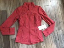 Lululemon Define Jacket Vntr Vintage Red/ Pink Size 8 NWT
