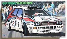 HASEGAWA 1/24 Lancia Super Delta 1992 WRC makes champion #25015 scale model kit