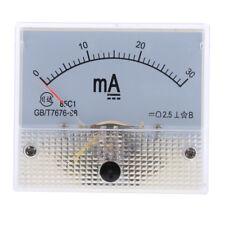 Dc 0 30ma Analog Amp Meter Ammeter Current Panel Ampere Meter Milliammeter