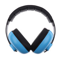 Noise Reduction Headphones Kids Earmuffs Loud Cancelling Hearing Safety Blue