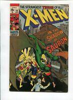 X-MEN # 60 - (VF) -NEAL ADAMS-1ST SAURON,CYCLOPS,BEAST,ICEMAN,KA-ZAR,POLARIS