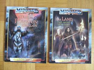 2 Midgard Abenteuer – Was Fürsten wollen 1 + Das Land das nicht sein darf Teil 2