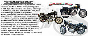 ROYAL ENFIELD BULLET CLASSIC VINTAGE MOTOR BIKE MUG