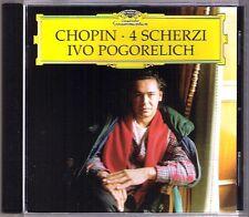 Ivo Pogorelich: Chopin Art No. 1 2 3 4 Scherzi CD DG 1998 op.20 31 39 54