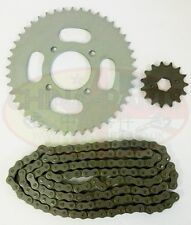 Chinese Bikes, ATV & Scooter Spares - Kinroad XT125-18 Chain & Sprockets Set