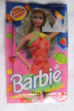 Set of 3 Barbie Sweet'N Pretty Tutti Fruitti Scent Halter Dresses Easy to Dress