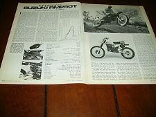 1980 SUZUKI RM250T   ***ORIGINAL ARTICLE*** RM-250