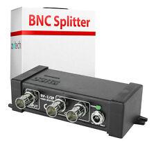 BNC Camera  Monitor Output Splitter  Active CCTV Security Amplifier  Distributor
