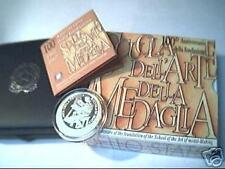 10 euro Italia 2007 argento PROOF Scuola Arte Medaglia