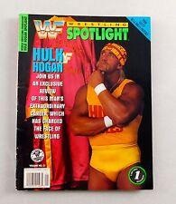 Hulk Hogan Spotlight Magazine WWF Wrestling Limited Rare 2 GIANT POSTERS