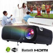 4K 1080P Android WIFI Projektor Bluetooth LED 3D Heimkino Beamer Multimedia l2