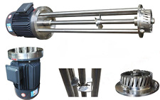 High Shear Mixer 1.5KW Disperser Emulsifier Emulsifying Machine Head Optional a