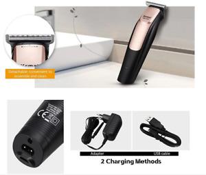 Top Kemei KM-3202 USB Aufladbare Elektrische Haar Clipper Trimmer Rasierer K19