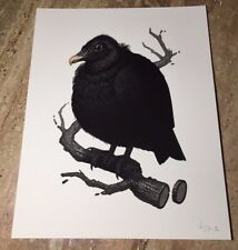 "Mike Mitchell 2017 Fat Kingdom Series ""Black Vulture"" Regular Ed. S/N LE/ 250"