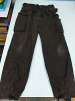 British Army Black Ripstop Field Windproof Combat Trousers Military SAS SF S95