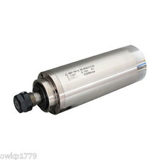 2.2KW 24000rpm Water Cooled Spindle Motor for CNC Engraving Milling Grinding