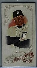 2015 Topps Allen & Ginter Mini #187 Miguel Cabrera A&G-backed card NM/MT Tigers!