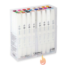 ShinHan TOUCH TWIN 24 BRUSH MARKER SET -AUTHORIZED DEALER-
