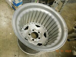"ONE 15x15 CENTERLINE CONVO PRO DRAG RACING WHEEL FORD 5 on 5"" DRAGSTER RACECAR"