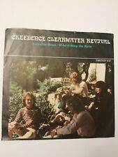 """Creedence Clearwater Revival """"Travelin' Band"""" w/Pic Fantasy 637 Record 45 RPM"""