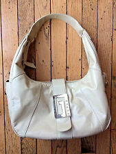 Guess Est 1981 Large Hobo Hand Bag Purse Cream