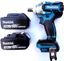 Makita XWT11 18V ½ 3-Speed Brushless Impact Wrench, (2) BL1830 Batteries 18 Volt