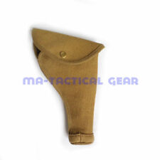 WWI WWII UK BRITISH ARMY 1937 TOOL P37 PISTOL HOLSTER FLAX MATERIAL HEAVY DUTY