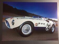 1953 Ferrari 375 MM Spider Vignale Print Picture Poster RARE!! Awesome L@@K