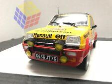 COCHE RALLYE RENAULT 5 ALPINE  #19 - Rally MonteCarlo 1978 - J. Ragnotti (1/18)