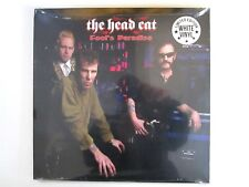 THE HEAD CAT FOOL'S PARADISE LP 2011 WHITE VINYL NEW LEMMY MOTORHEAD STRAY CATS