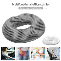 Memory Foam Coccyx Orthoped Seat Cushion Back Cushion Support Pillow Lumbar Gift